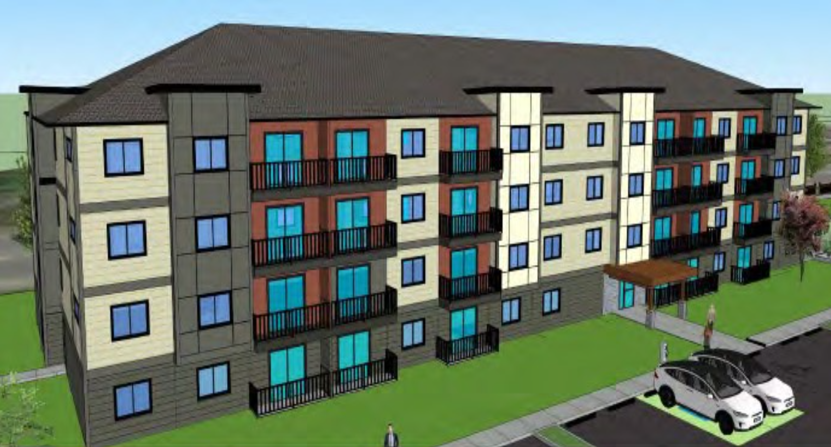 Rental Apartment Building - Courtenay, BC
